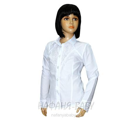 Детская блузка STAR KIDS арт: 115, 5-9 лет, 10-15 лет, цвет белый, оптом Турция
