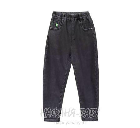 Подростковые теплые джинсы LNYB арт: 85001, 10-15 лет, оптом Китай (Пекин)