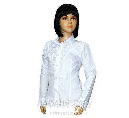 Детская блузка STAR KIDS арт: 115, штучно, 10-15 лет, цвет белый, размер 134, оптом Турция