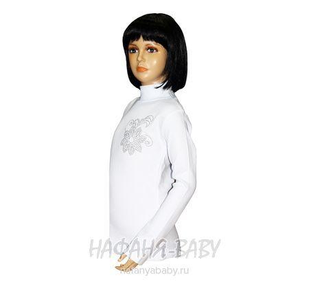 Детская водолазка REMI арт: 106, штучно, 5-9 лет, цвет белый, размер 122, оптом Турция