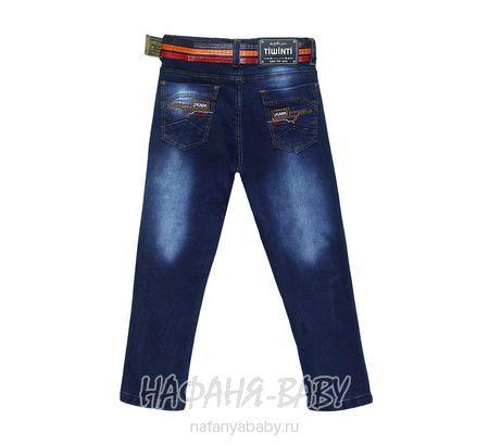 Детские джинсы TIWINTI арт: 466, 1-4 года, 5-9 лет, цвет темно-синий, оптом Турция