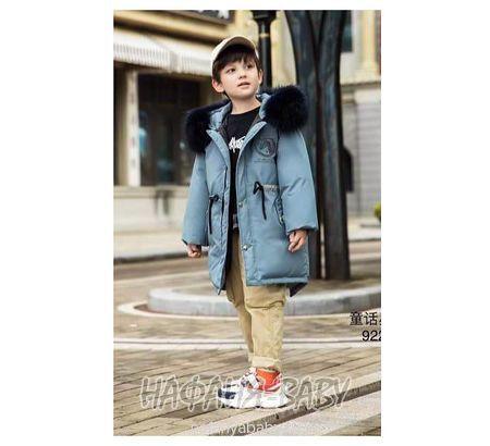 Зимняя парка для мальчика MAY JM арт: 9227, 10-15 лет, 5-9 лет, оптом Китай (Пекин)