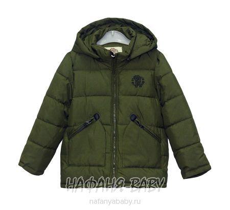Детская куртка ROBERTO арт: 1784, 1-4 года, 5-9 лет, цвет темный защитный хаки, оптом Китай (Пекин)