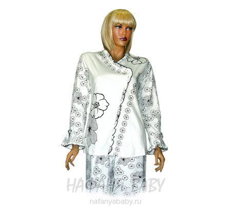 Комплект домашней одежды DUO LA MEI арт: 1226, штучно, 10-15 лет, молодежный, цвет молочный, оптом Китай (Пекин)