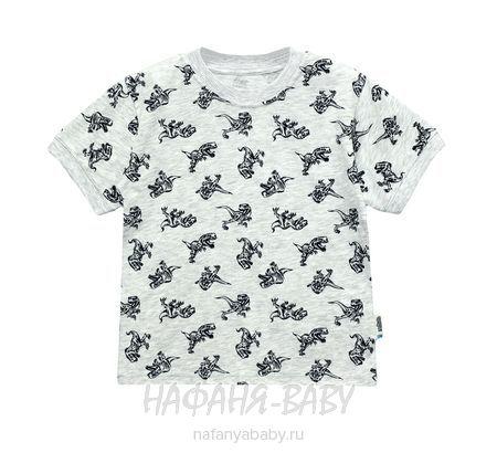 Детская футболка UNRULY арт: 2935, цвет серый меланж, оптом Турция