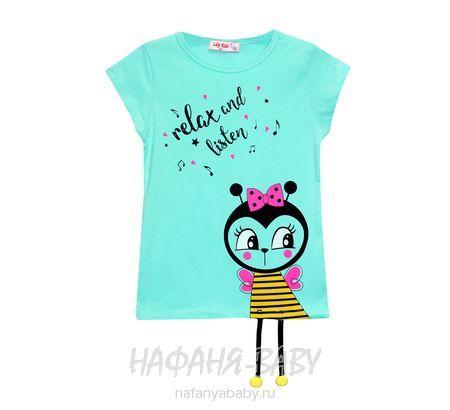 Детская футболка, артикул 3582 LILY Kids арт: 3582, 1-4 года, цвет желтый, оптом Турция
