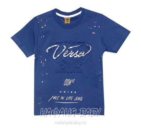 Детская футболка SAHIN арт: 506, 5-9 лет, цвет сине-серый, оптом Турция