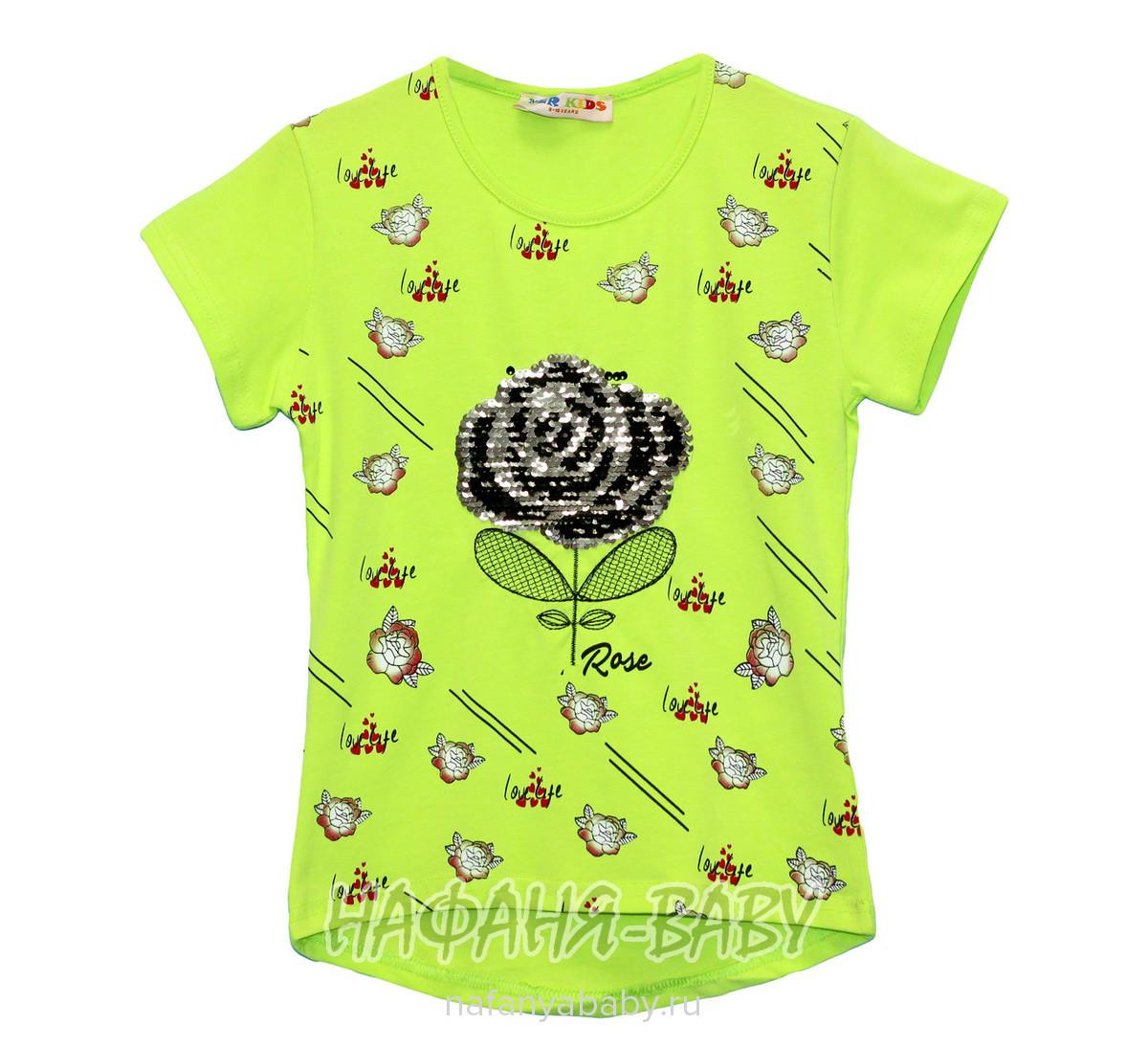 Детская футболка YZR арт: 2202, 10-15 лет, 5-9 лет, оптом Турция