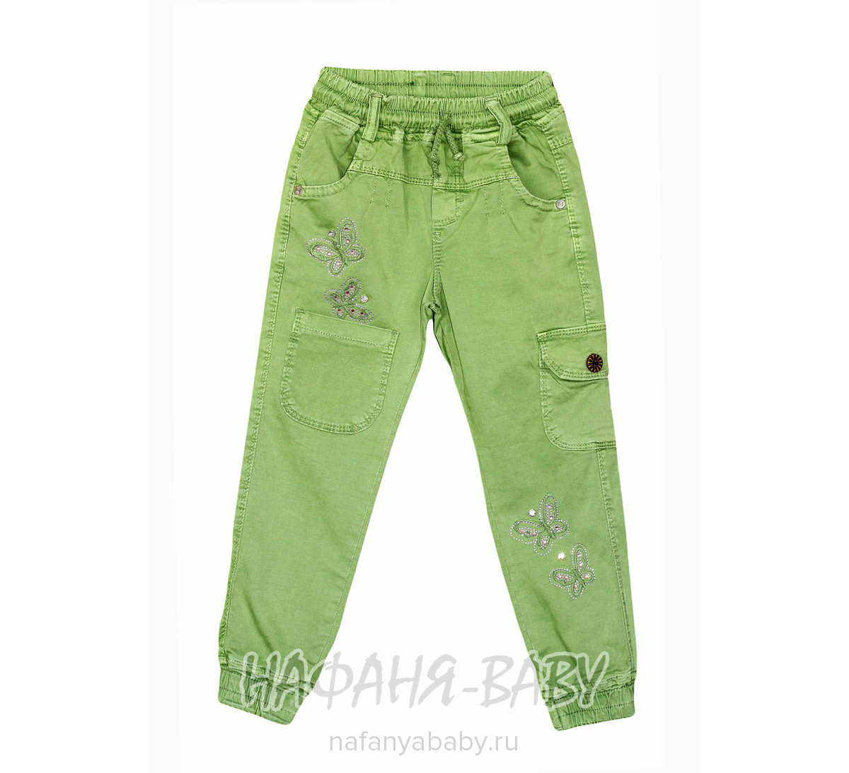 Детские брюки для девочки RIDAEN арт: 3179, 5-9 лет, оптом Турция