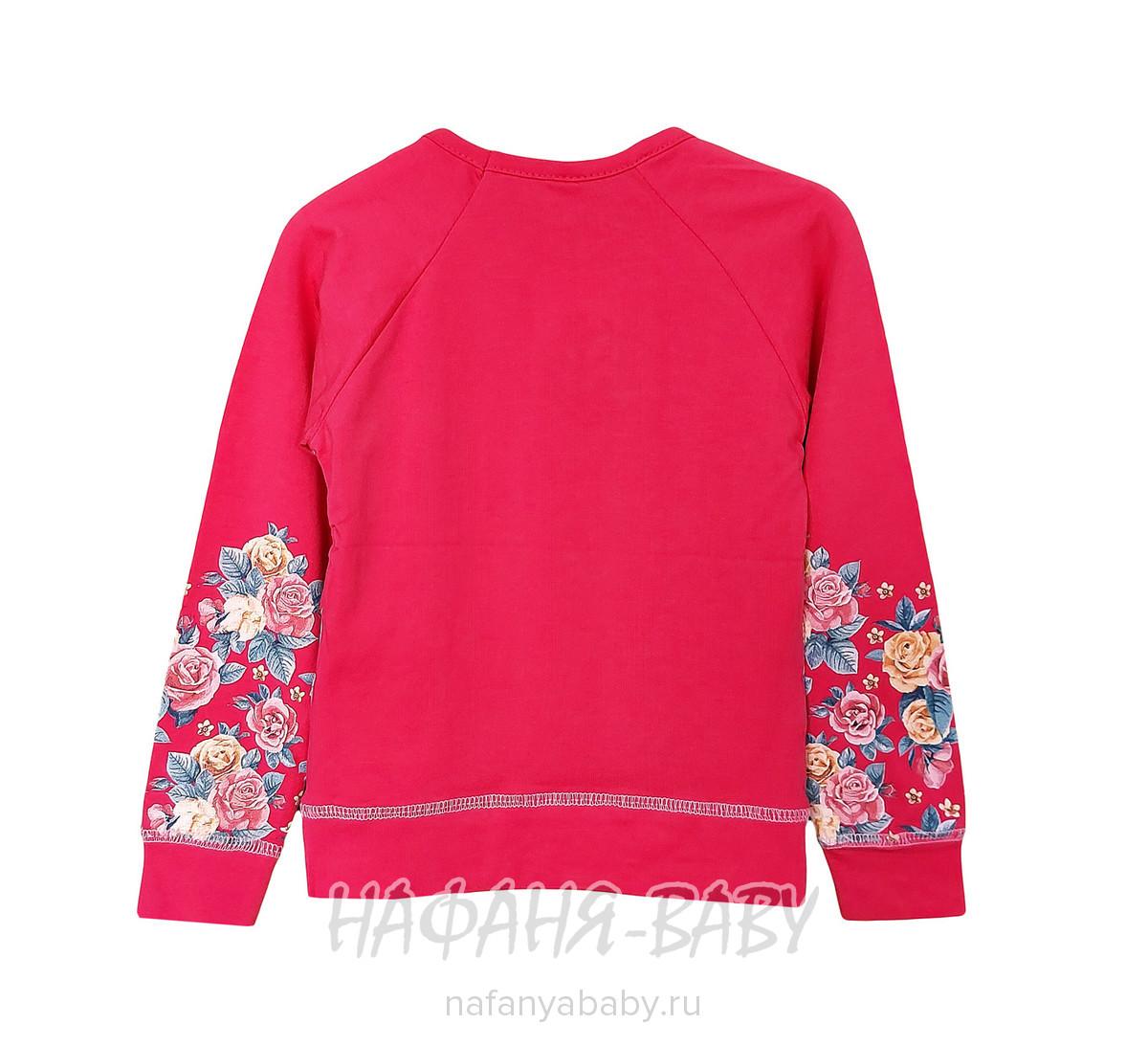 Детский свитшот NARMINI арт: 4813, 5-9 лет, 1-4 года, цвет малиновый, оптом Турция