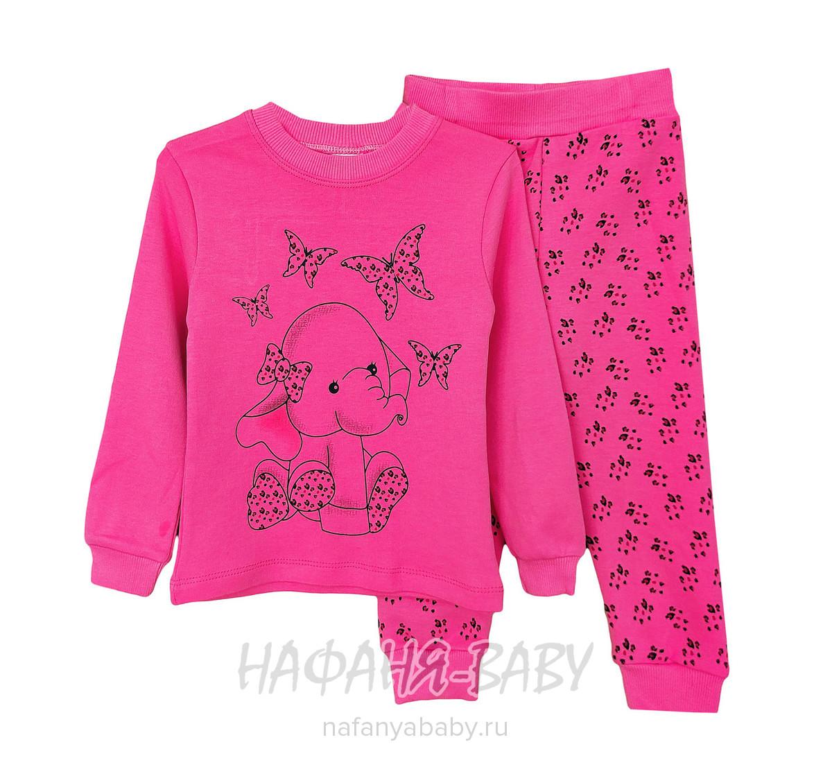 Детский костюм Cit Cit арт: 5378, 1-4 года, цвет розовый, оптом Турция