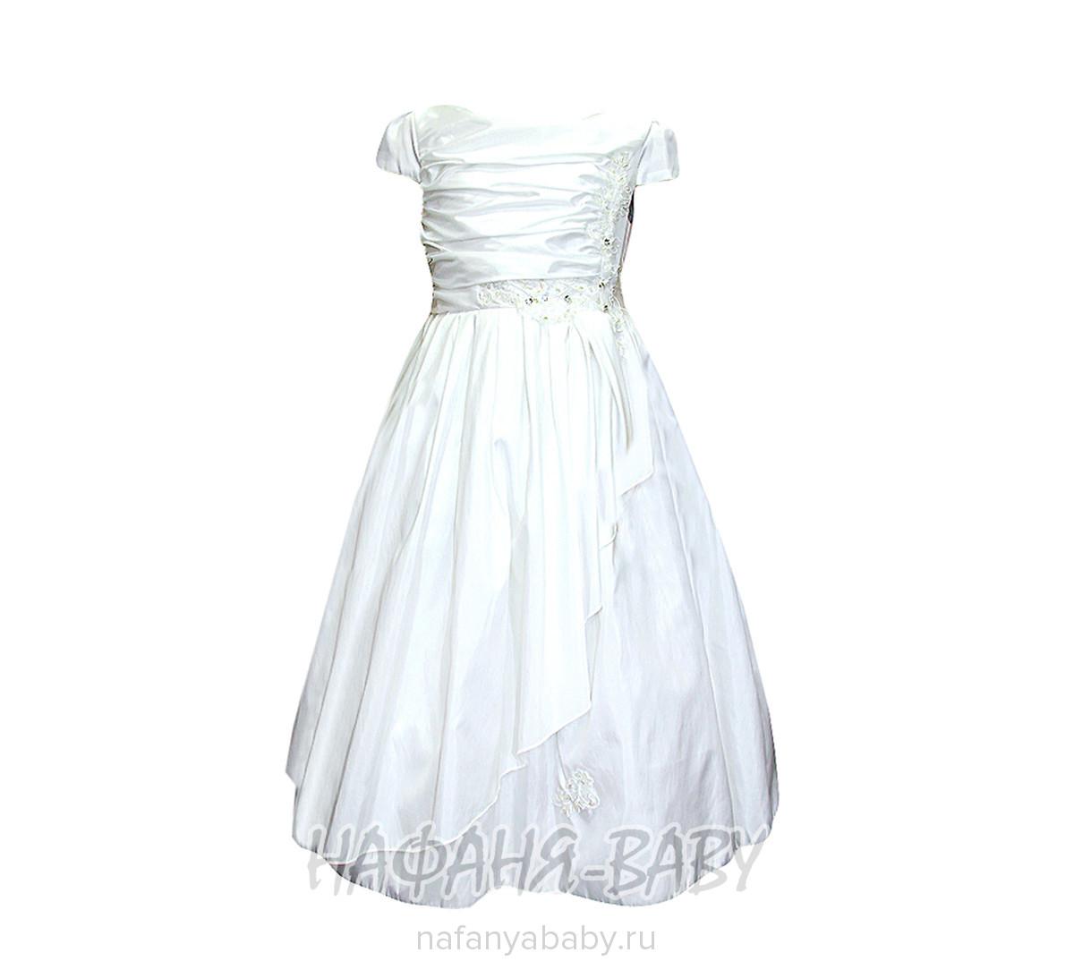 Нарядное платье для девочки BABY MOSES арт: 6185, 1-4 года, 5-9 лет, оптом Китай (Пекин)