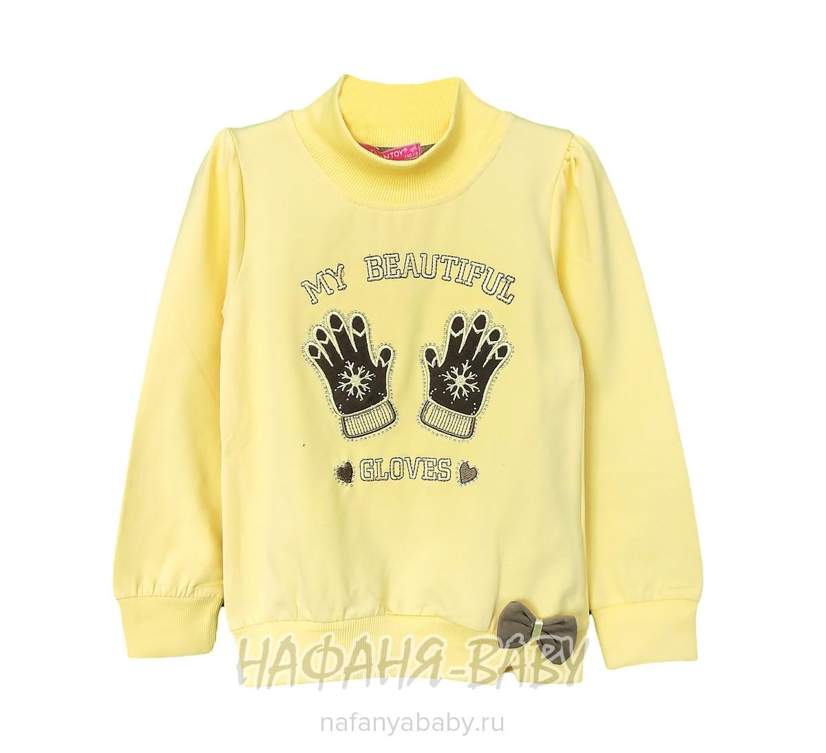 Детская трикотажная водолазка TOONTOY арт: 7740, 5-9 лет, 1-4 года, цвет желтый, оптом Турция
