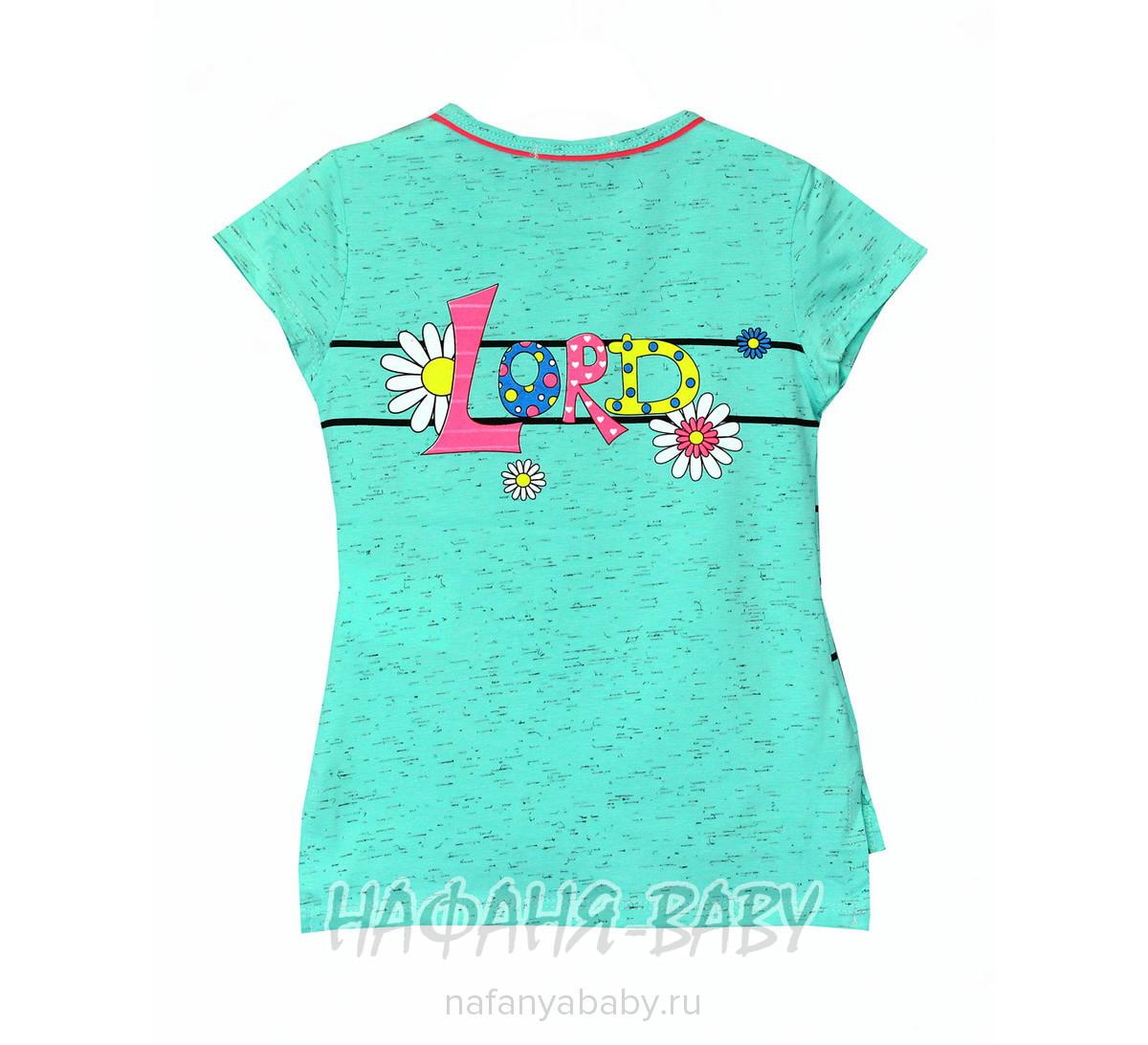 Детская футболка LILY Kids арт: 3532, 5-9 лет, 1-4 года, цвет желтый меланж, оптом Турция