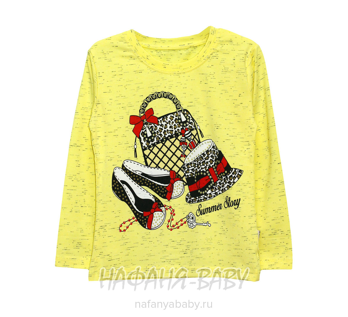Детский лонгслив UNRULY арт: 5138, 5-9 лет, 1-4 года, цвет желтый меланж, оптом Турция