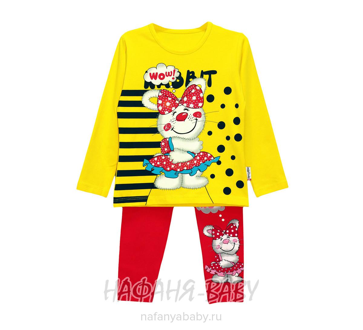 Детский костюм UNRULY арт: 5178, 5-9 лет, 1-4 года, цвет персиковый с темно-синим, оптом Турция
