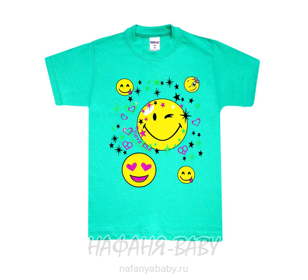 Детская футболка HASAN Bebe арт: 1339, 5-9 лет, 1-4 года, цвет розовый, оптом Турция