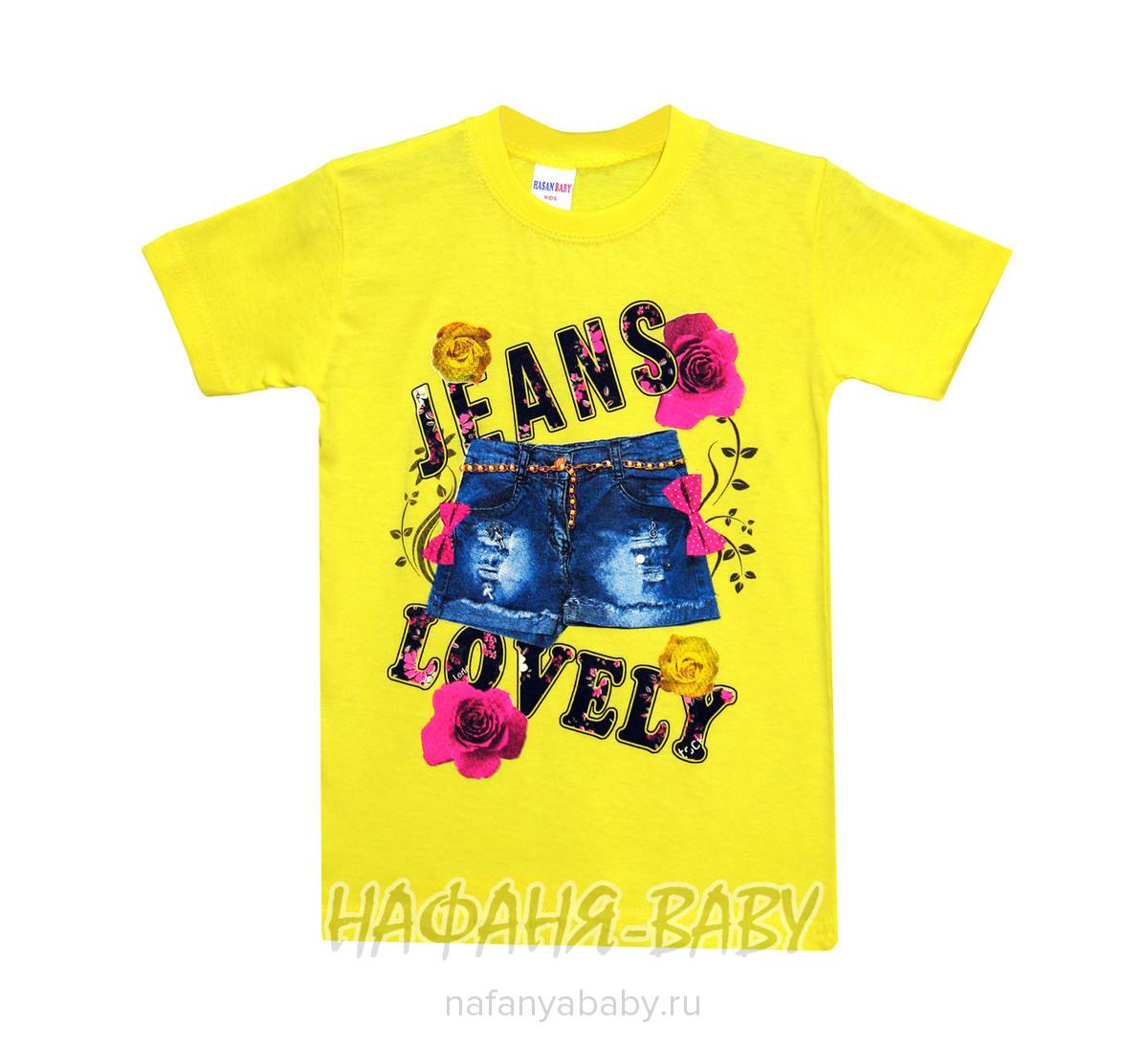 Детская футболка HASAN Bebe арт: 3980, цвет зеленый, оптом Турция