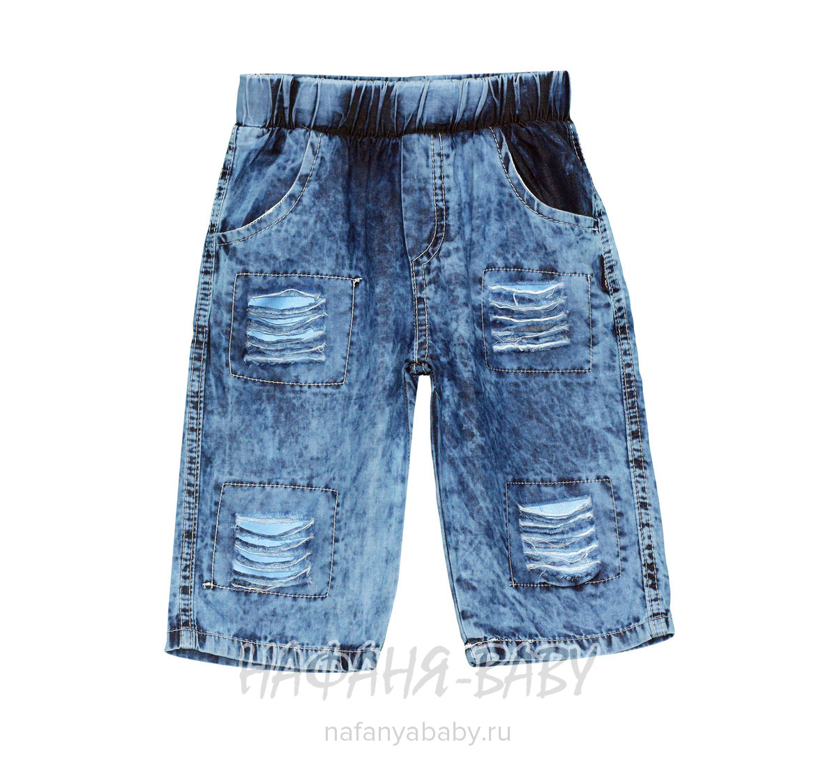 Детские шорты AKIRA арт: 2107, цвет синий, оптом Турция